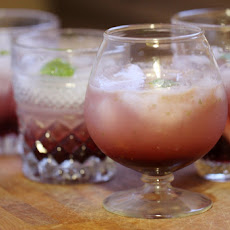 Easy Cranberry-Pomegranate Lime Cocktail Recipe