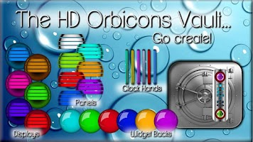 Screenshot of Icon Pack HD OrbiconS