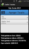Screenshot of Cadivi Tracker