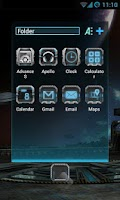 Screenshot of Next Launcher Theme Robotect