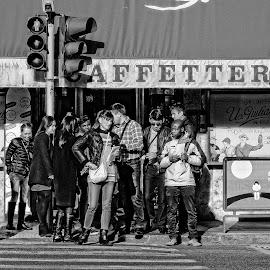 After Break by Samuel Sitompul - People Street & Candids