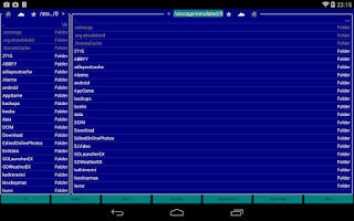 Screenshot of Far On Droid File Manager
