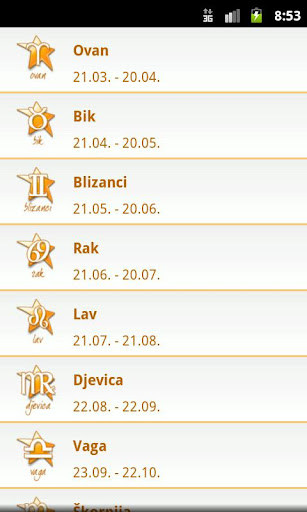 【免費生活App】Dnevni Horoskop-APP點子