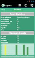 Screenshot of Squats Coach