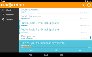 Screenshot of PRX Remix