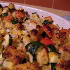 Zucchini Vegetable Stuffing/Casserole