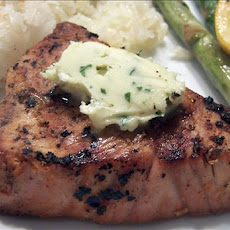Ginger Marinated Tuna With Wasabi Butter