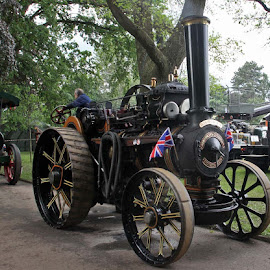 Vintage Steam Engine by John Davies - Transportation Other ( age of steam, steam engines, vintage machinery, vintage engines, steam traction engines )