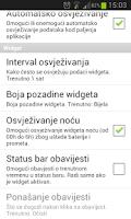 Screenshot of HR Vrijeme
