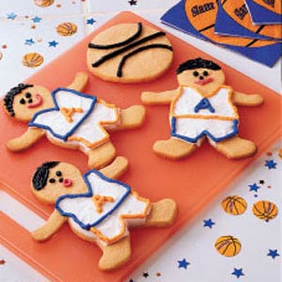 Butterscotch Basketball Cookies