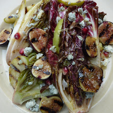 Autumn Grilled Salad with Figs and Apples