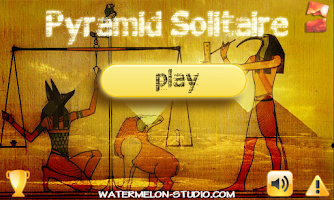Screenshot of Pyramid Solitaire Free