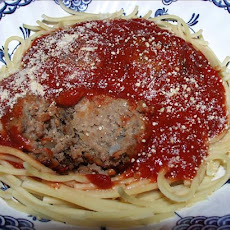 Grandpa Rondina's Meatballs and Sauce