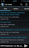 Screenshot of MyScanner-Police Scanner Radio