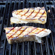 Barbeque Halibut Steaks