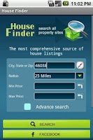 Screenshot of House Finder