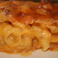 Creamy Baked Macaroni and Cheese – Not Low Fat!