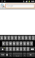 Screenshot of Keyboard for Dyslexics