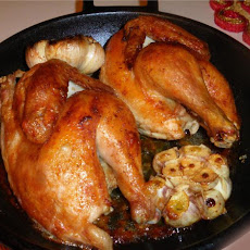 Herbed Cornish Hen