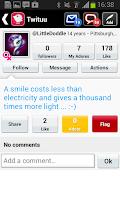 Screenshot of Chat live : Twituu