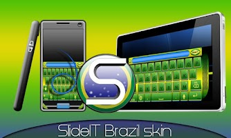 Screenshot of SlideIT Brazil Skin