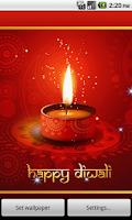 Screenshot of A Diwali Damaka Live Wallpaper
