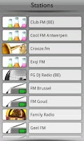 Screenshot of België Radio by Tunin.FM
