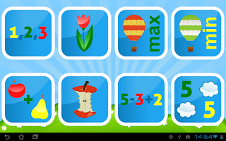 Screenshot of Kids Numbers and Math