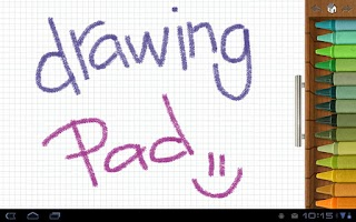 Screenshot of Drawing Pad
