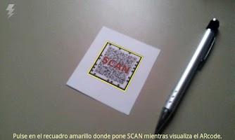 Screenshot of ARcode Scanner
