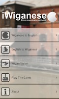 Screenshot of iWiganese - Wigan to English