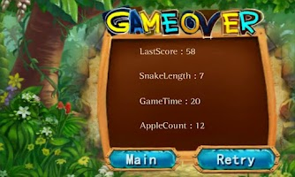 Screenshot of Crazy Snakes