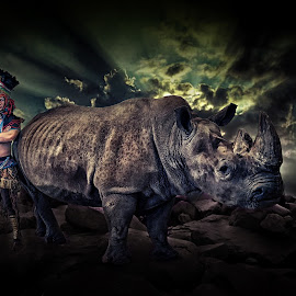 The Rhino Warrier by Crispin Lee - Digital Art People
