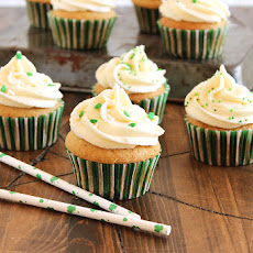 Nutty Irishman Cupcakes with Bailey's Buttercream Frosting