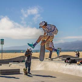 Venice Skatepark 2 by Will Gangi - Sports & Fitness Skateboarding ( skateboarding, california, venice, los angeles, skateboard )