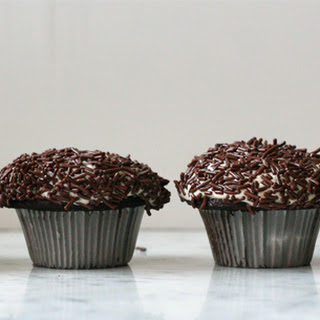 Chocolate Cupcakes for Four