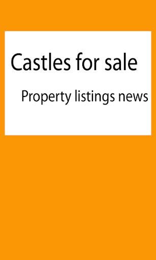 Castles for sale