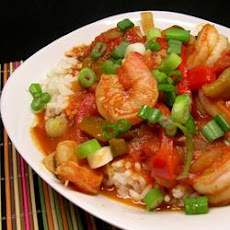 Peppery Shrimp and Rice