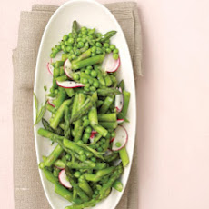 Asparagus, Peas, and Radishes with Fresh Tarragon
