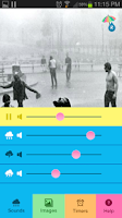 Screenshot of Raining.fm - Rain Sounds