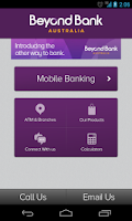 Screenshot of Beyond Bank Australia