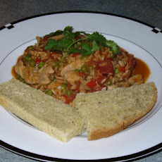 Brown Arroz Con Pollo (Brown Rice and Chicken)