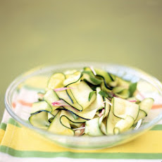 Zucchini Ribbons with Mint