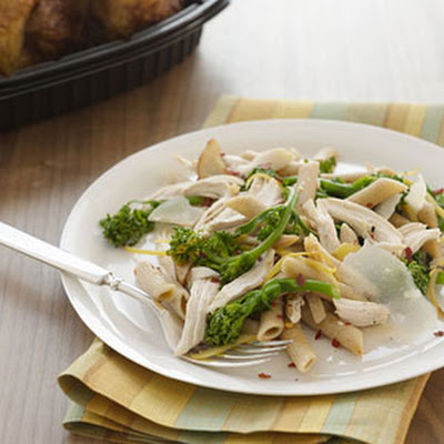 Penne With Chicken and Preserved Lemon