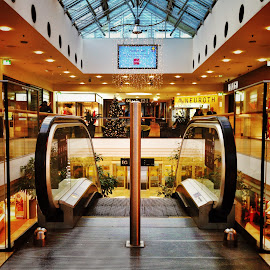 Shopping mall by Melinda Szente - Buildings & Architecture Other Interior