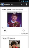Screenshot of Meme Italia
