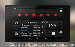 Screenshot of Metronome: Tempo