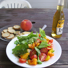 Pickled Peach Salad