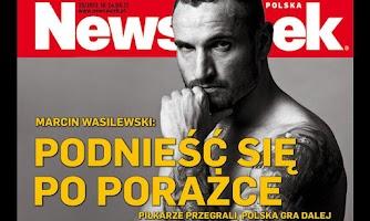 Screenshot of Newsweek Polska
