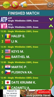 Tennis Live Score - screenshot
